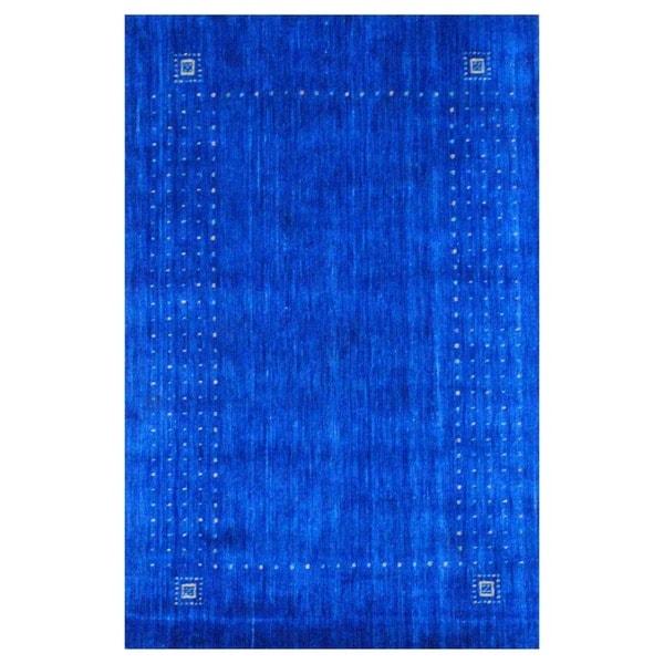 Herat Oriental Indo Hand-loomed Gabbeh Wool Rug (2' x 3') - 2' x 3'