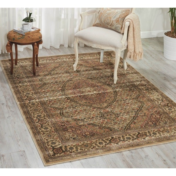 Nourison Persian Arts Traditional Ivory Rug (2' x 3'6)