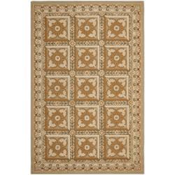 Safavieh Hand-hooked Chelsea Beige Wool Rug (8'9 x 11'9) - 8'9 X 11'9 - Thumbnail 0