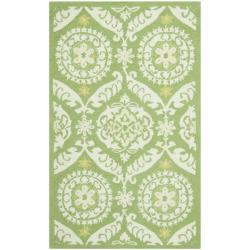 Safavieh Hand-hooked Chelsea Heritage Green Wool Rug (2'6 x 4')