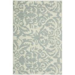 Safavieh Hand-hooked Chelsea Damask Beige Wool Rug (1'8 x 2'6)