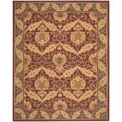 Safavieh Hand-hooked Chelsea Red Wool Rug (8'9 x 11'9)