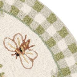 Bumble Bee Rug Home Decor