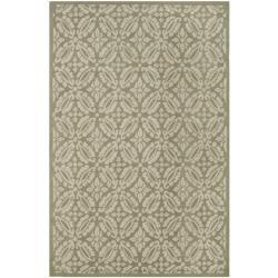 Safavieh Hand-hooked Chelsea Sage Wool Rug (5'3 x 8'3)