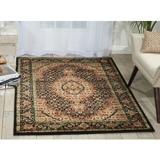 Nourison Persian Arts Black Rug (2' x 3'6)