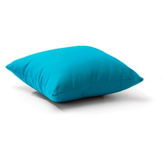 Zuo Laguna Polyester Sky Blue Outdoor Pillow