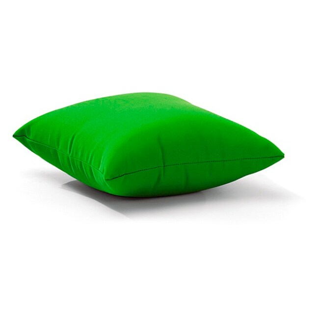 Laguna Polyester Green Outdoor Pillow (Laguna Outdoor Pillow Green)
