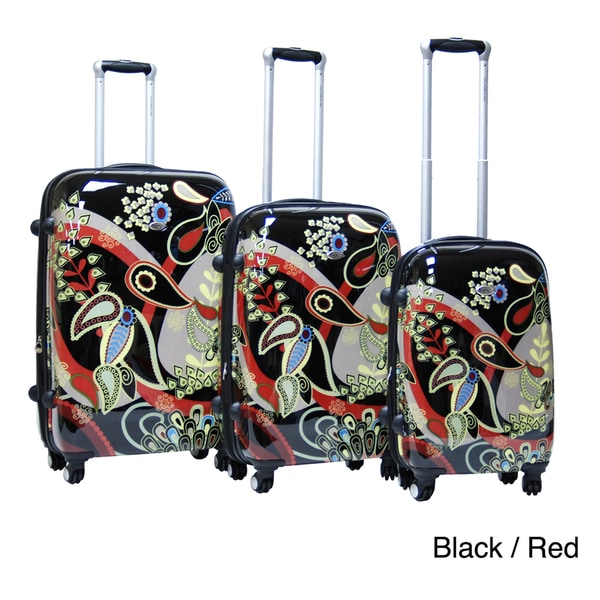 Calpak Woodstock 3-piece Expandable Hardside Spinner Luggage Set