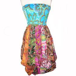 Cotton Bubble Tube Dress (Nepal) - Thumbnail 1
