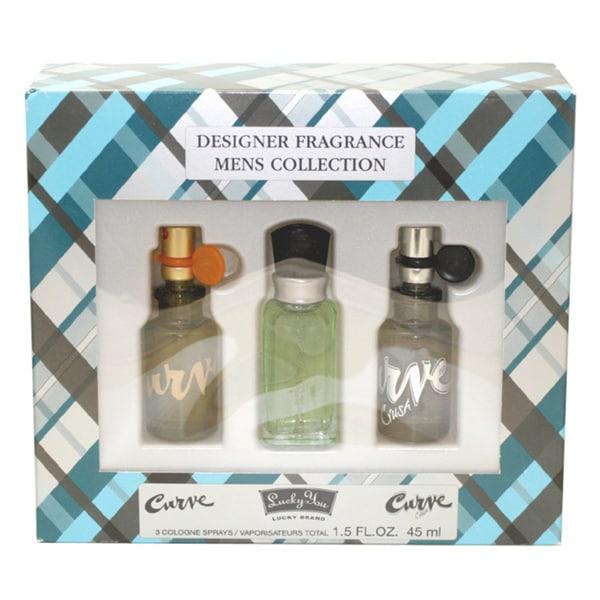 Designer Fragrance Collection Men's 3-piece Gift Set