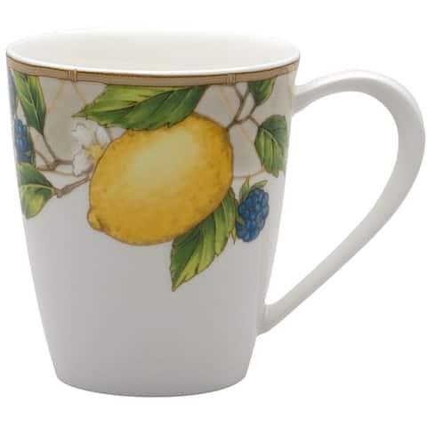 Fruit Salad Coffee Mugs 14oz Set/4