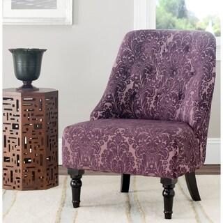 Safavieh Gramercy Indigo Floral Motif Armless Club Chair
