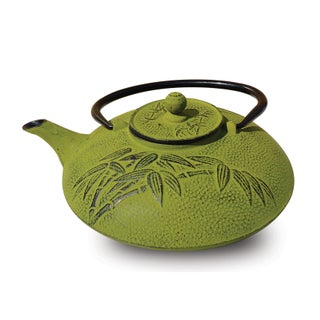 Old Dutch Positivity Teapot (Option: Moss Green Cast Iron)