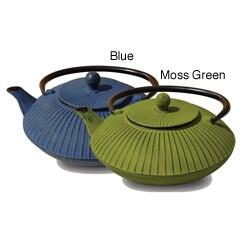 Old Dutch Cast Iron 27-ounce Teapot (Option: Green)