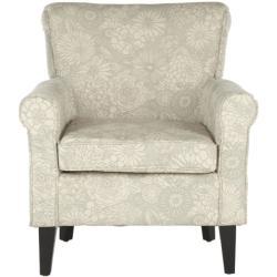 Safavieh Gramercy Garden Motif Grey Club Chair