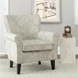 Safavieh Gramercy Garden Motif Grey Club Chair