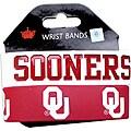 Oklahama Sooners Rubber Wrist Band (Set of 2) NCAA