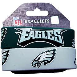 Philadelphia Eagles Wrist Band (Set of 2) NFL|https://ak1.ostkcdn.com/images/products/6990960/Philadelphia-Eagles-Wrist-Band-Set-of-2-NFL-P14500859.jpg?impolicy=medium