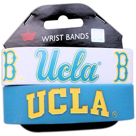 UCLA Bruins Rubber Wrist Band (Set of 2) NCAA