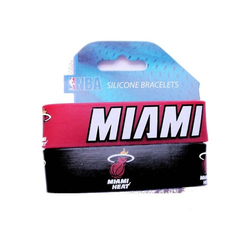Miami Heat Wrist Band (Set of 2) NBA