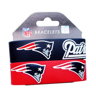 New England Patriots Wrist Band (Set of 2) NFL|https://ak1.ostkcdn.com/images/products/6990973/P14500871.jpg?impolicy=medium