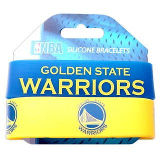 Golden State Warriors Rubber Wrist Band (Set of 2) NBA