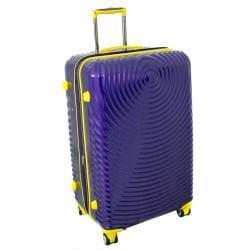American Vertigo Purple 3-piece Lightweight Expandable Hardside Spinner Luggage Set With TSA Lock - Thumbnail 1