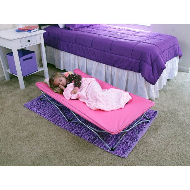 Regalo Pink My Cot Portable Travel Bed Free Shipping On