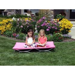 Regalo Pink My Cot Portable Travel Bed - Thumbnail 1