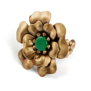 Sweet Romance Camellia Flower Ring