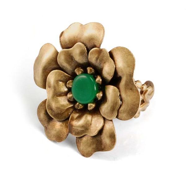 Sweet Romance Camellia Flower Ring