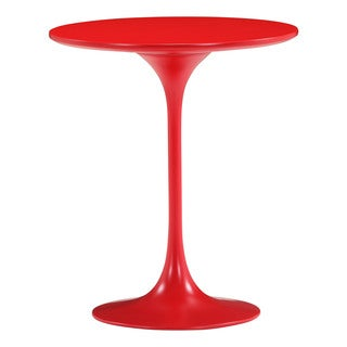 Zuo Wilco Red Side Table