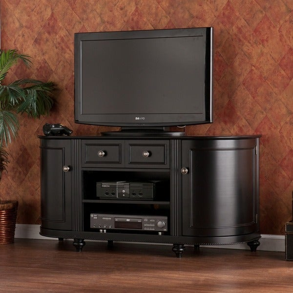 Harper Blvd Maywood Black TV Stand
