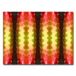 Amy Vangsvard 'Cactus Vibrations' Canvas Art