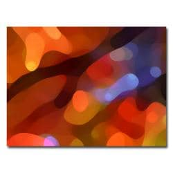 Amy Vangsvard 'Fall Light' Contemporary Canvas Art