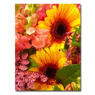 Amy Vangsgard 'Spring Bouquet' Canvas Art