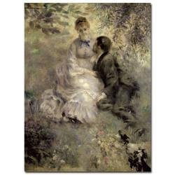 Pierre Auguste Renoir 'The Lovers, c.1875' Canvas Art