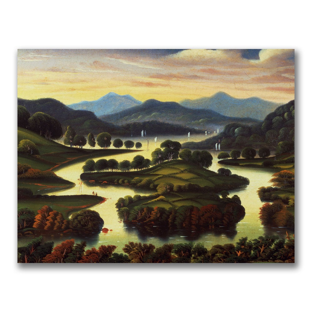 Thomas Chambers 'Landscape' Canvas Art