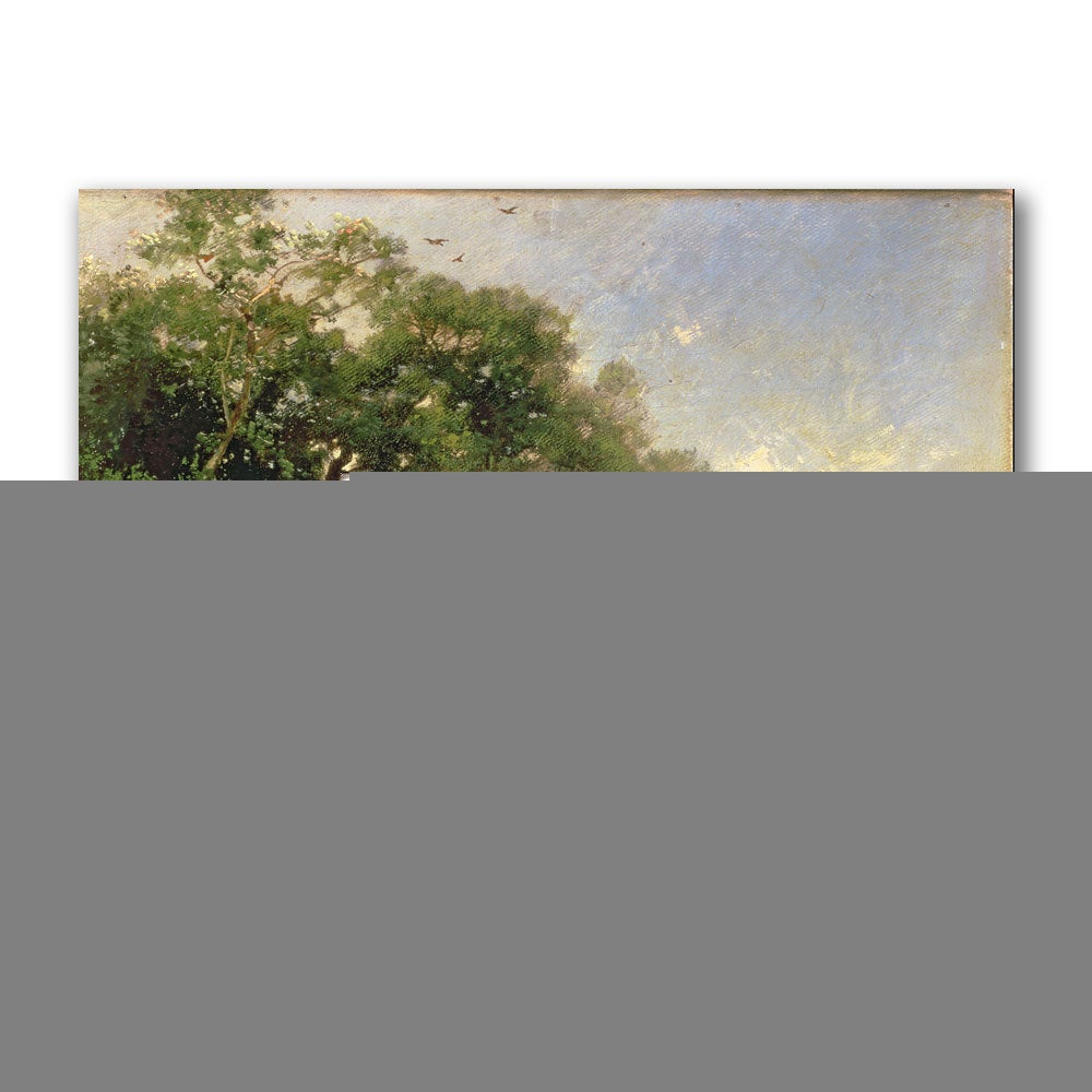 Thomas Moran 'The Coast of Florida, 1882' Canvas Art