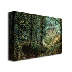 John Grimshaw 'Autumn Glory, The Old Mill' Canvas Art - Thumbnail 1