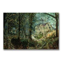 John Grimshaw 'Autumn Glory, The Old Mill' Canvas Art - Thumbnail 0