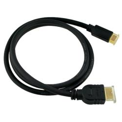 INSTEN 3-foot Male to Male Type A to C High Speed HDMI Cable