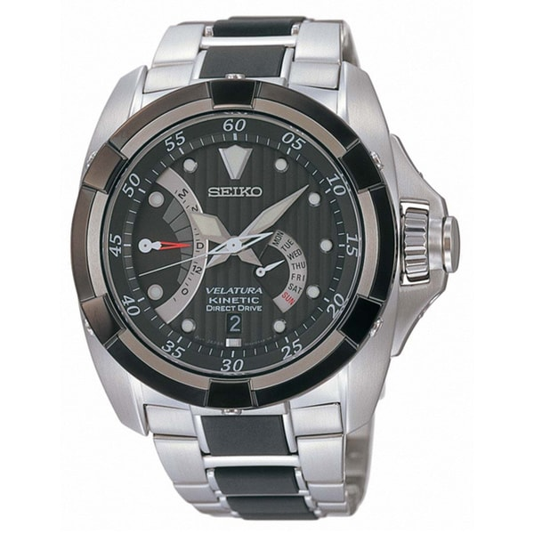 Seiko Men's SRH005P1 Velatura Kinetic Direct Drive 100 Meter Watch