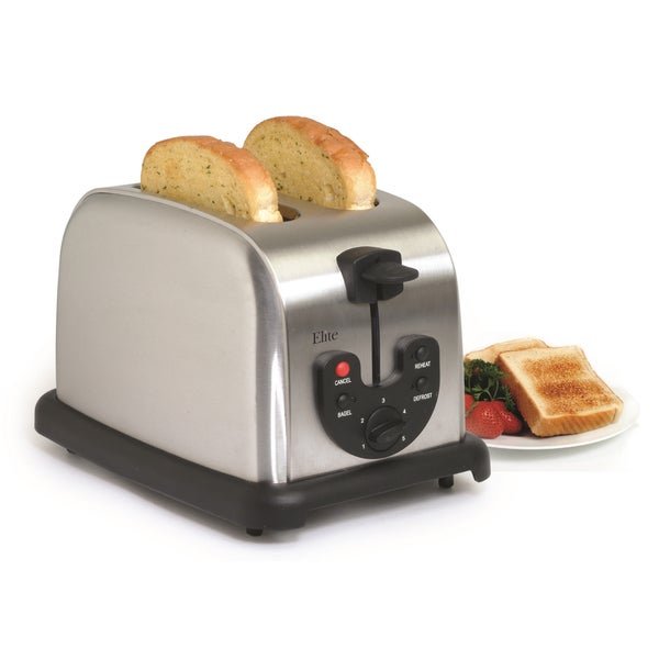 Elite Stainless Steel 2-slice Toaster