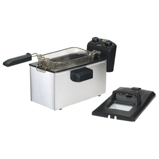 Maxi Matic 3.5-quart Cool-touch Deep Fryer