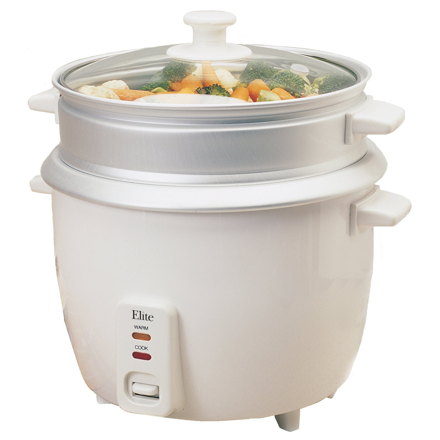 Elite Systems Maxi Matic Elite Gourmet White 8-cup Rice C...