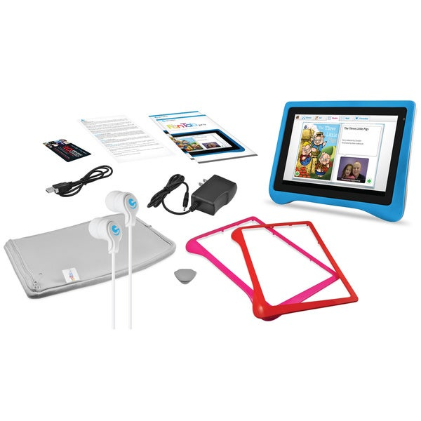 "Ematic 7"" Kid Safe Tablet Pro with Android 4.1, Jelly Bean"