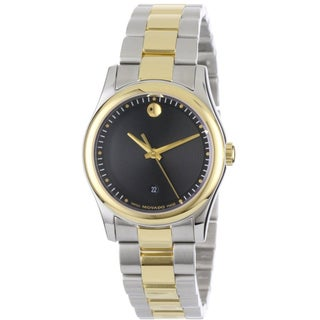 Movado Women's Gold-plated Stainless Steel 'Sportivo' Watch