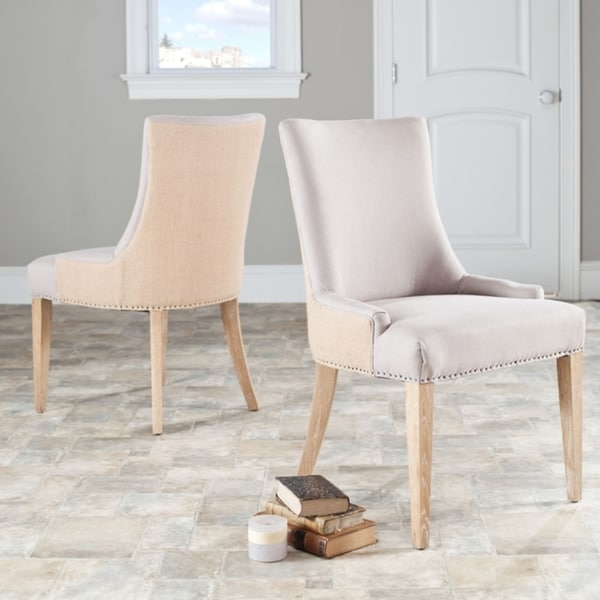 Safavieh En Vogue Dining Becca Beige Jute Dining Chair