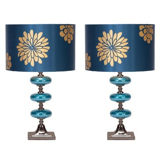Casa Cortes Costa Azul 23-inch Table Lamps (Set of 2)